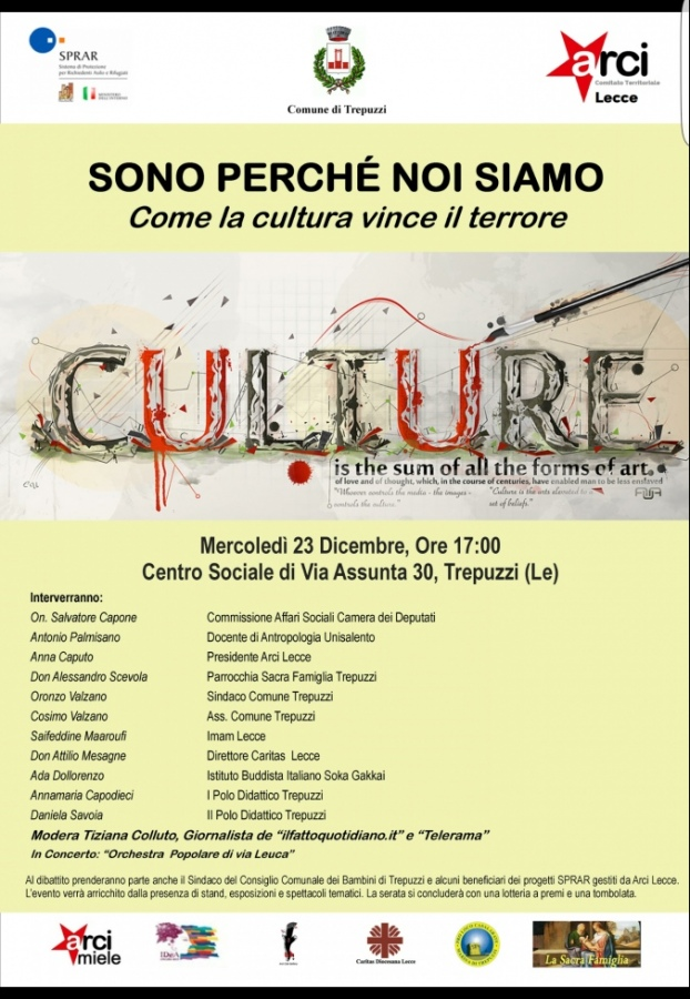 Arci Lecce: la cultura contro l'ignoranza